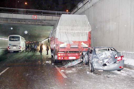 Başkentte trafik kazası 5