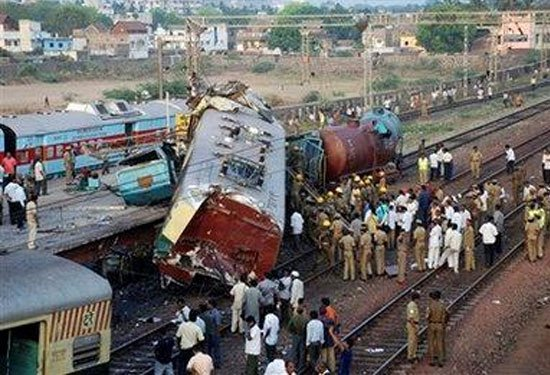 Son 10 yılın en büyük tren kazaları 10