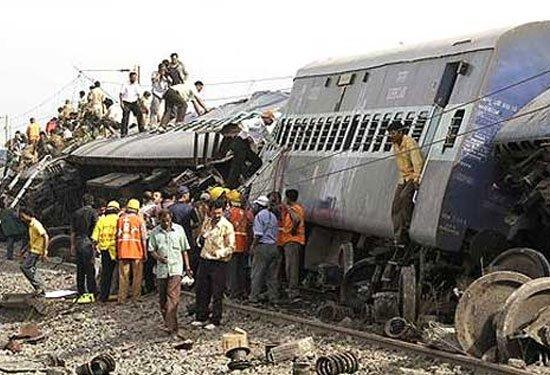 Son 10 yılın en büyük tren kazaları 14