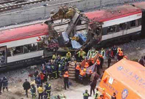 Son 10 yılın en büyük tren kazaları 8
