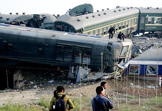 Son 10 yılın en büyük tren kazaları 9