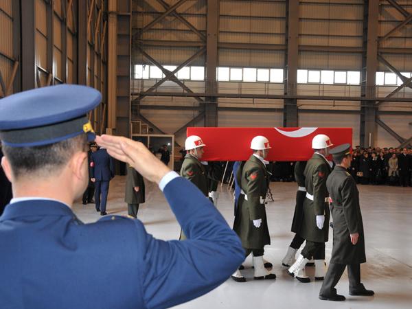 Şehit Pilot törenle uğurlandı 1