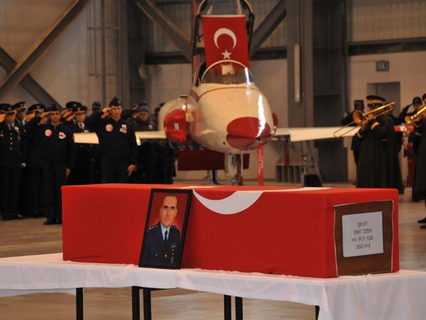 Şehit Pilot törenle uğurlandı 2