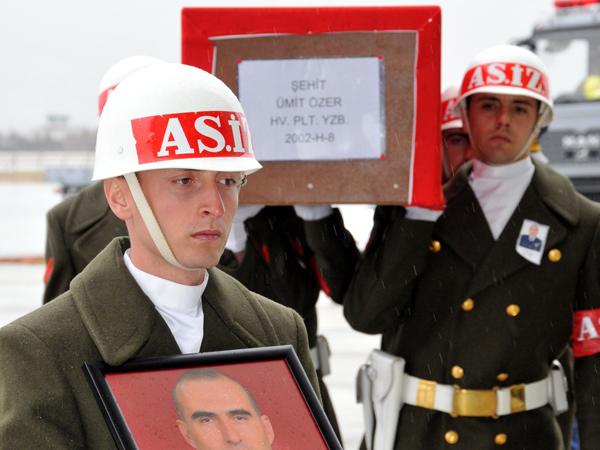 Şehit Pilot törenle uğurlandı 9