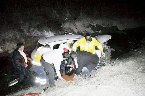 Seydişehirde trafik kazası: 1 ölü 5 Yaralı 2