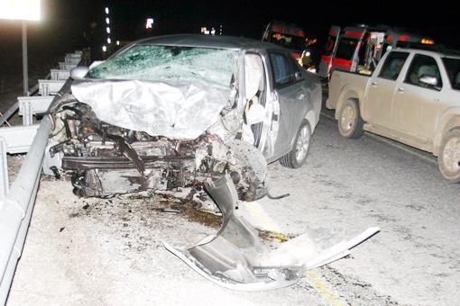 Trafik kazası 2 ölü 5