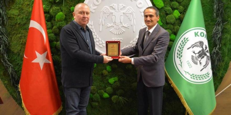 Kızılay Atiker Konyaspor'a teşekkür etti