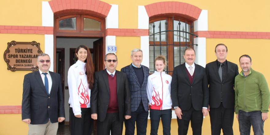 Başkan Şahin'den TSYD'ye ziyaret