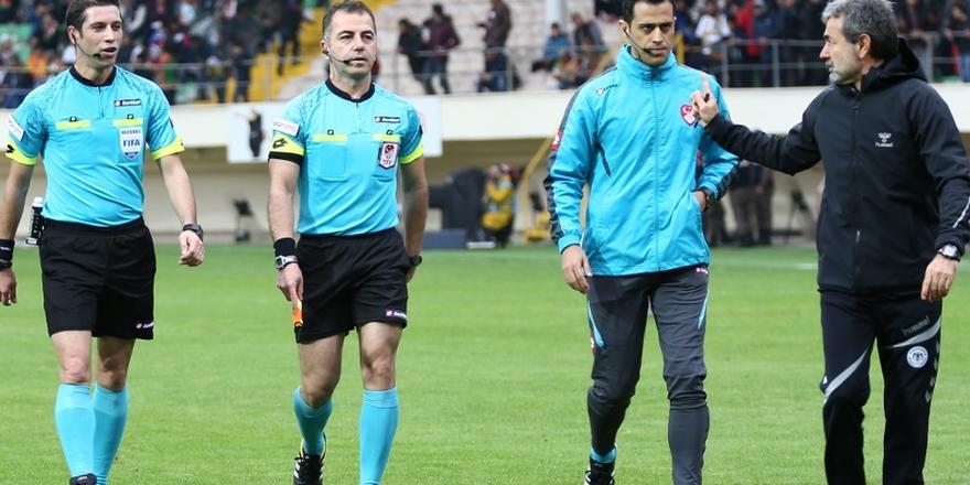 Erzurumspor maçını  Palabıyık yönetecek
