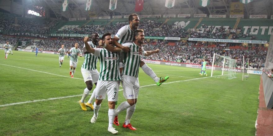 Atiker Konyaspor ikinci yarılara iyi başlıyor