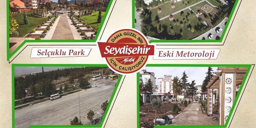 Seydişehir'de 420 bin 671  metrekare arsa kazandırıldı