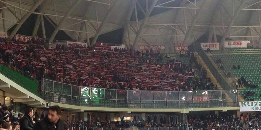 Antalya taraftarı maça alınmayacak