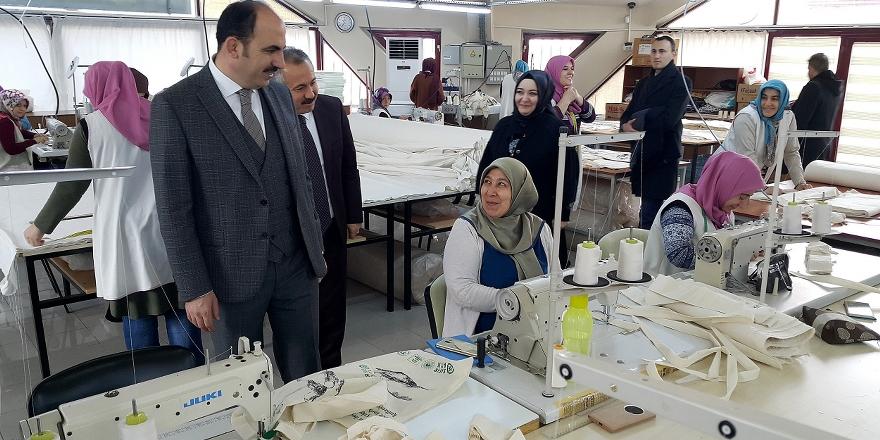 Konya'da 1 milyon bez torba dağıtılacak