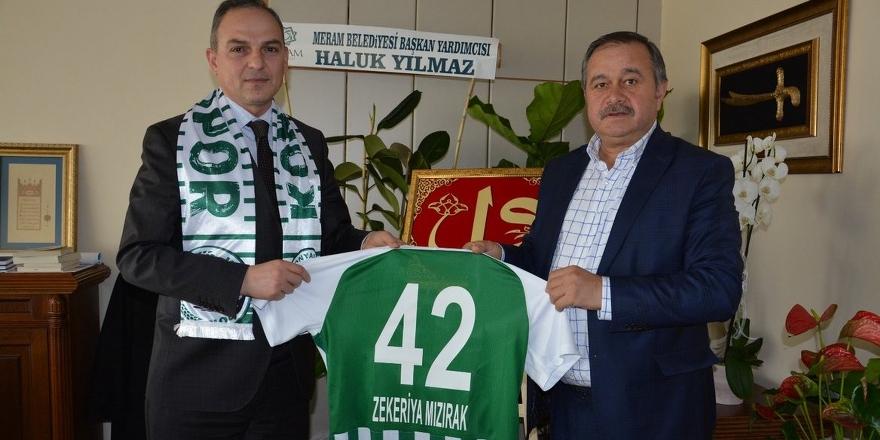 Konyaspor'dan Mızırak'a ziyaret