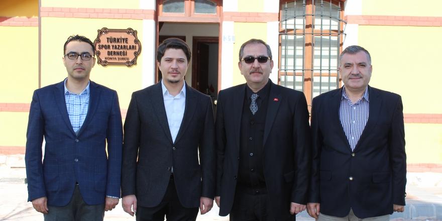 Özboyacı'dan TSYD Konya Şubesine ziyaret