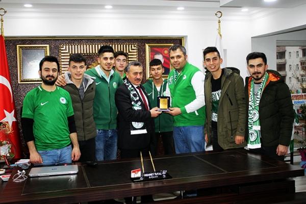 Nalçacılılar Seydişehir'den Başkan Tutal'a ziyaret
