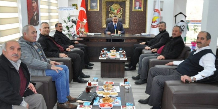 Başkan Tutal'a hayırlı olsun ziyareti