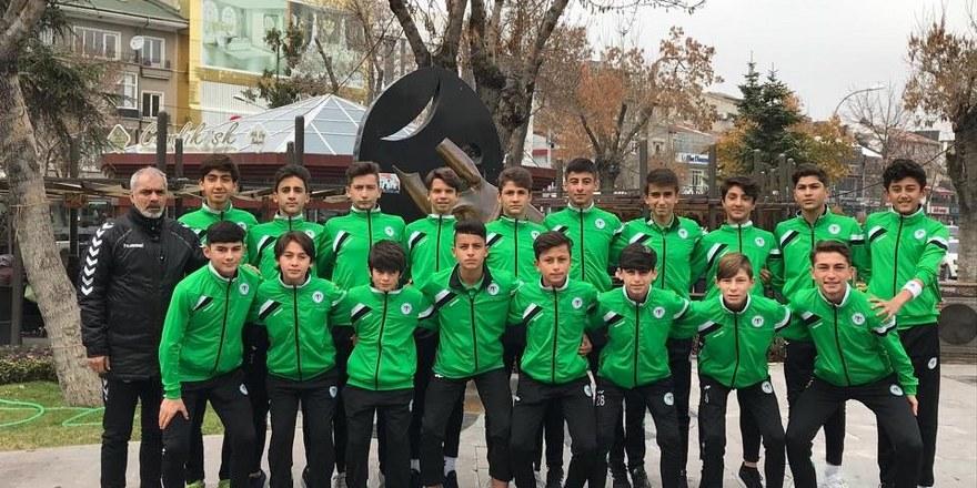 Minik Konyasporlular rekor kırıyor