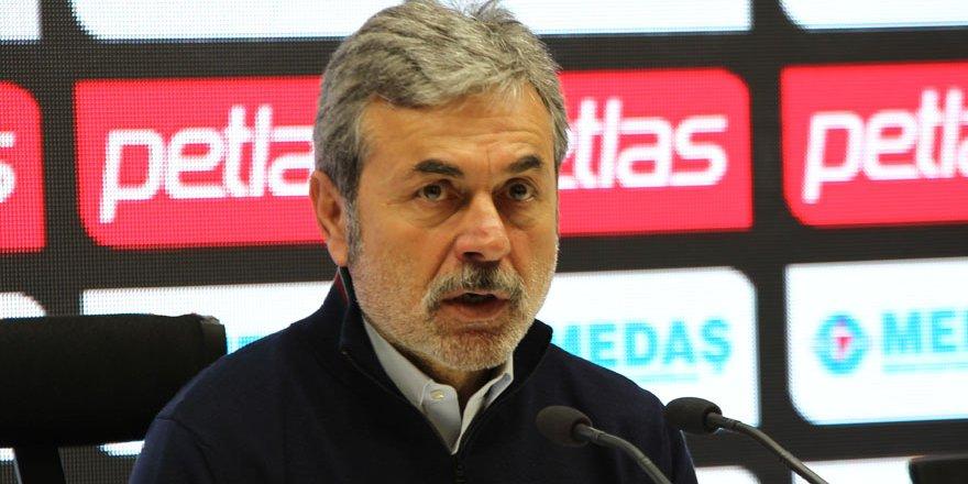 Aykut Kocaman: Oyun Malatyaspor'un istediği gibi geçti