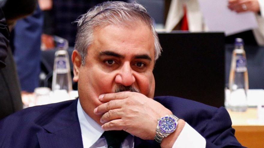 Bahreynli Bakan'dan skandal sözler