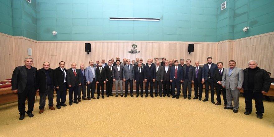 Konya Büyükşehir Belediye Meclisinde Ahde Vefa