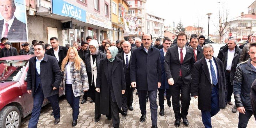 Cumhur İttifakı adayları vatandaşlardan destek istedi