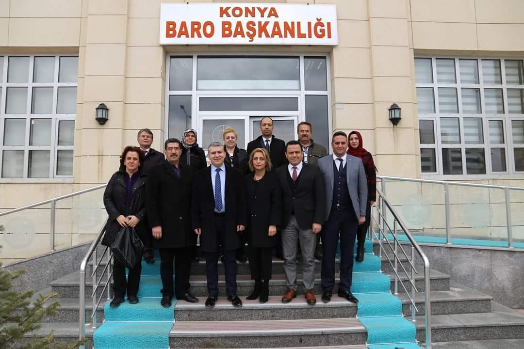 İYİ Partili Yiğit'ten  Baro'ya ziyaret