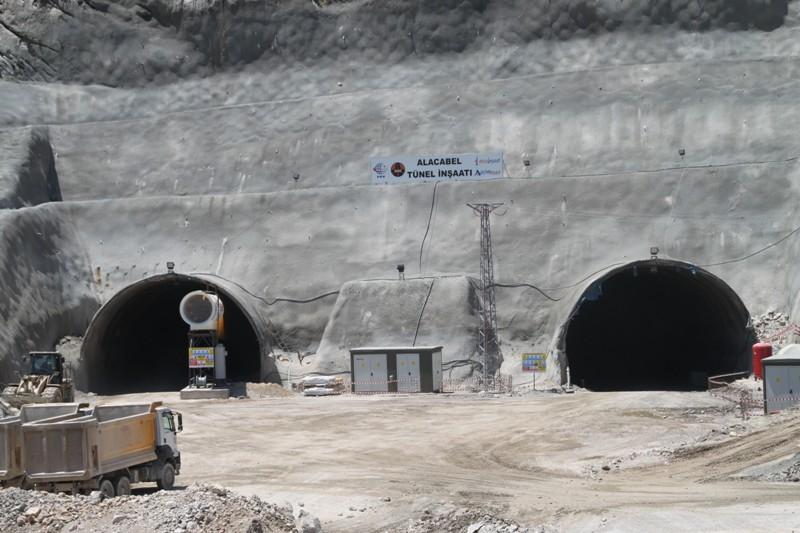 Alacabel tünelinde  çalışmalar başlıyor