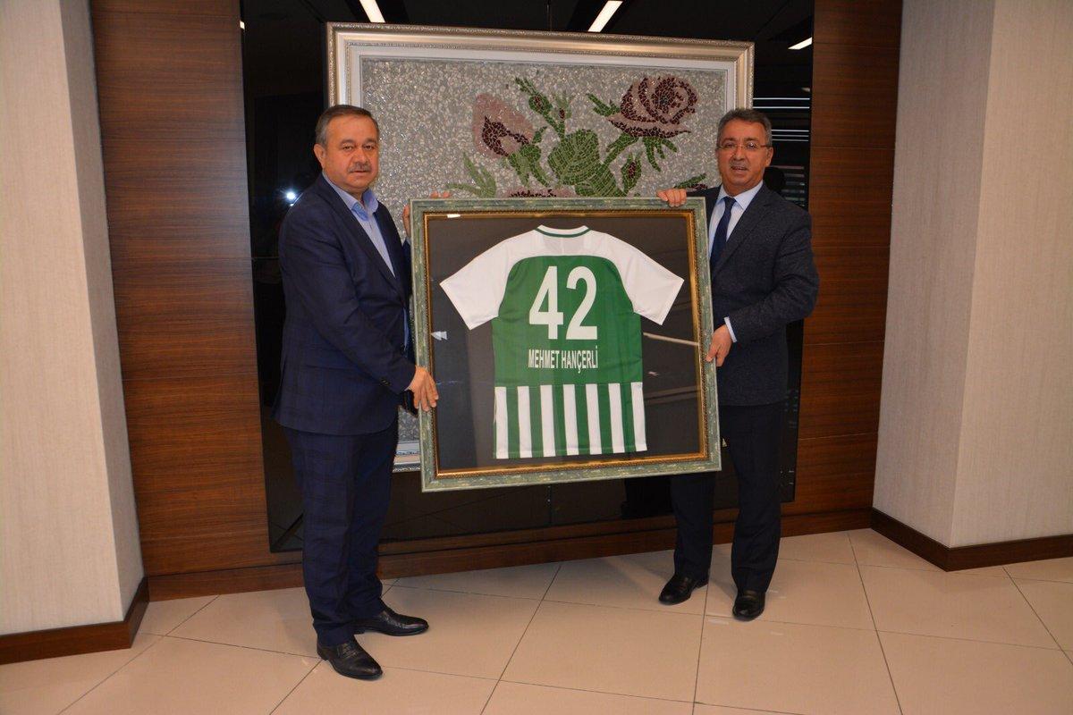 Hançerli: Konyaspor bizleri gururlandırıyor