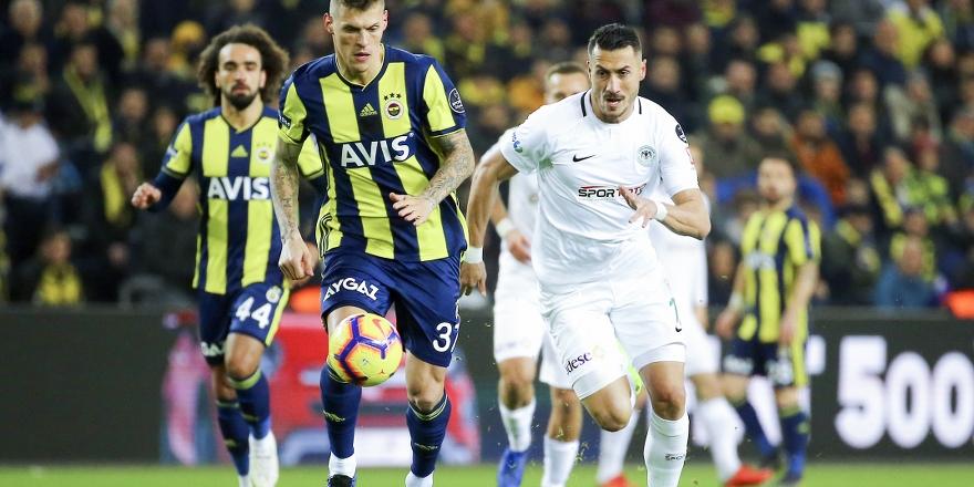 Atiker Konyaspor 10 kişiyle 110 km koştu
