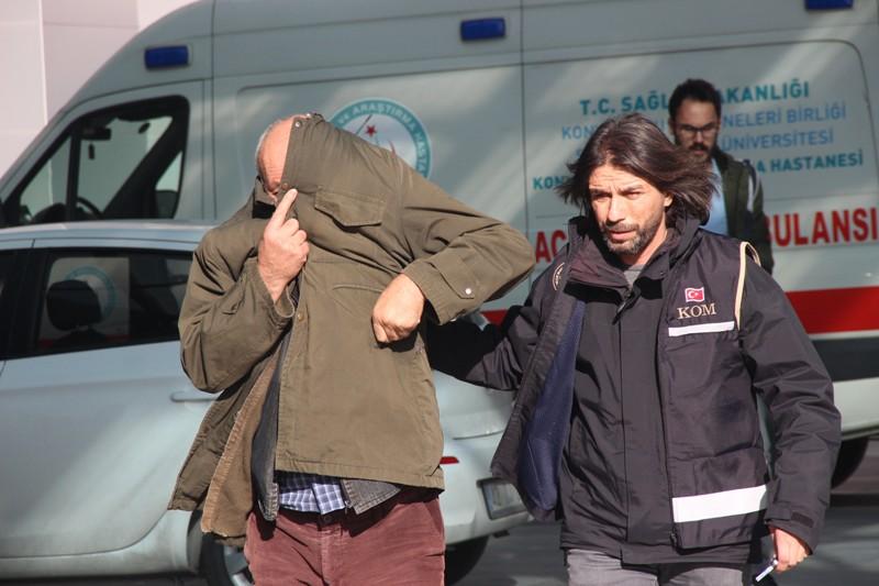 Konya'da kuru sıkı operasyonu: 17 gözaltı
