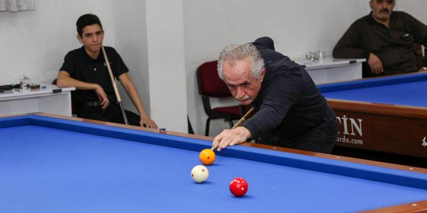 Bilardoda Mehmet Ali  Özbuğday turnuvası