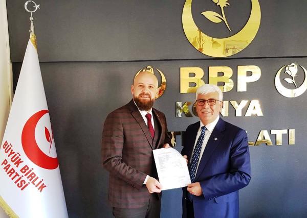 BBP Meram Adayı Ömer Şimşek old