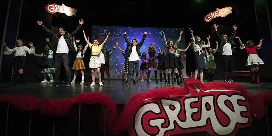 'Grease Müzikali' Diltaş'ta sahnelendi