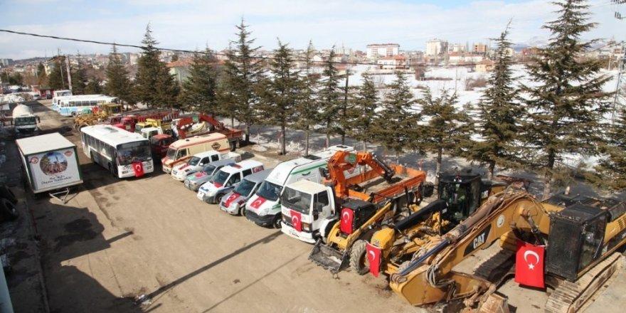 Seydişehir Belediyesine 35 yeni araç kazandırıldı