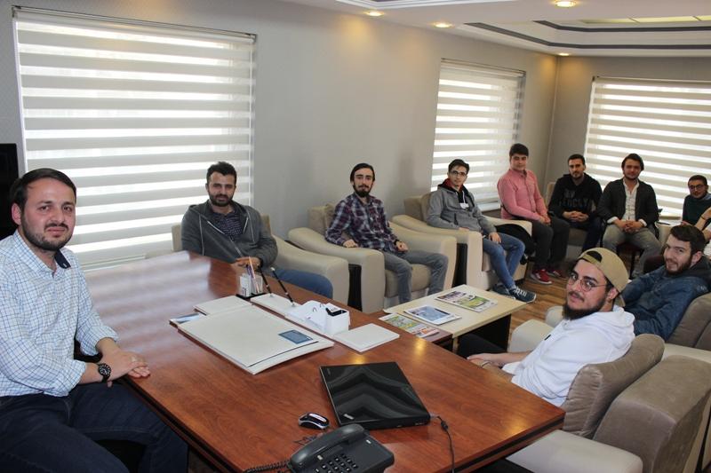 İletişim öğrencilerinden Merhaba'ya ziyaret
