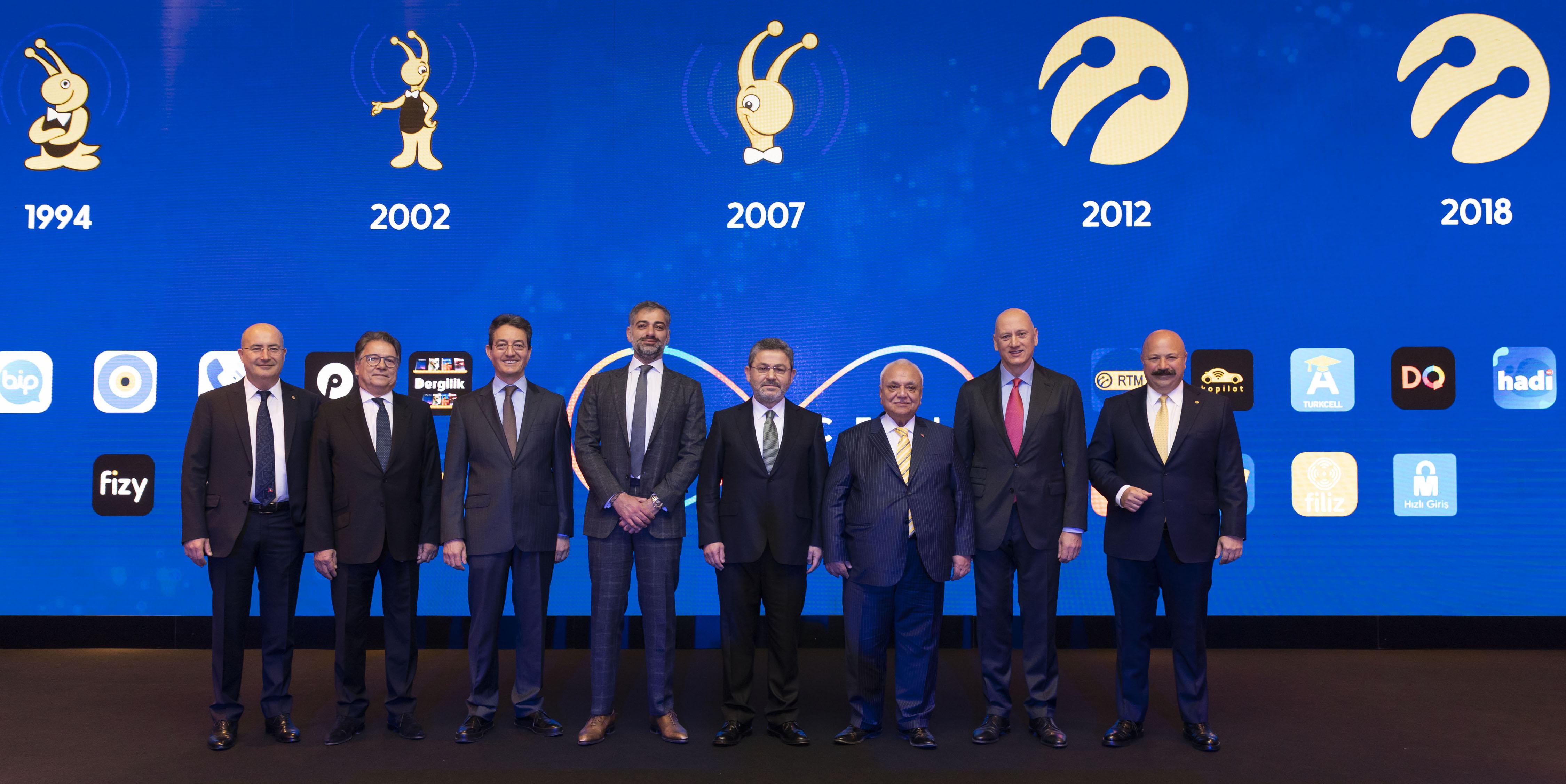 Turkcell 25. yılını kutluyor