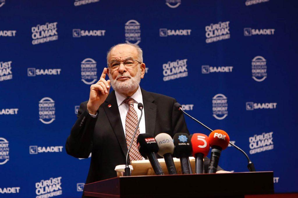Karamollaoğlu: Ülke satışa çıkarıldı