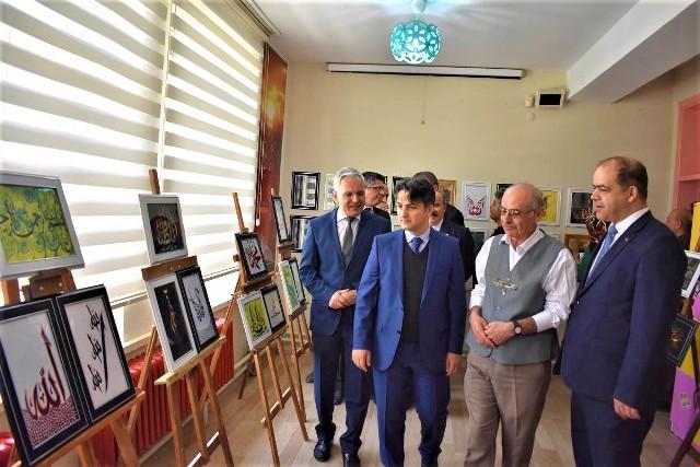 Seydişehir'de  karma sergi açıldı