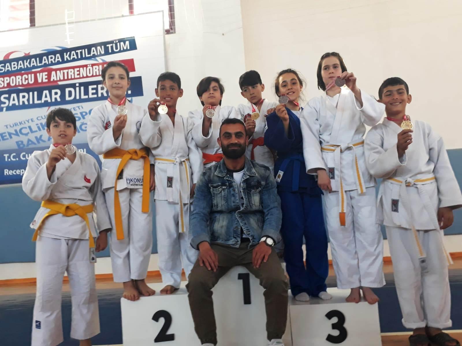 Judo İl Birinciliğine Taşkent Spor damgasını vurdu