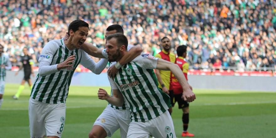 Konyaspor-Göztepe maçını Goller Cepte'yle 16 bin kişi izledi
