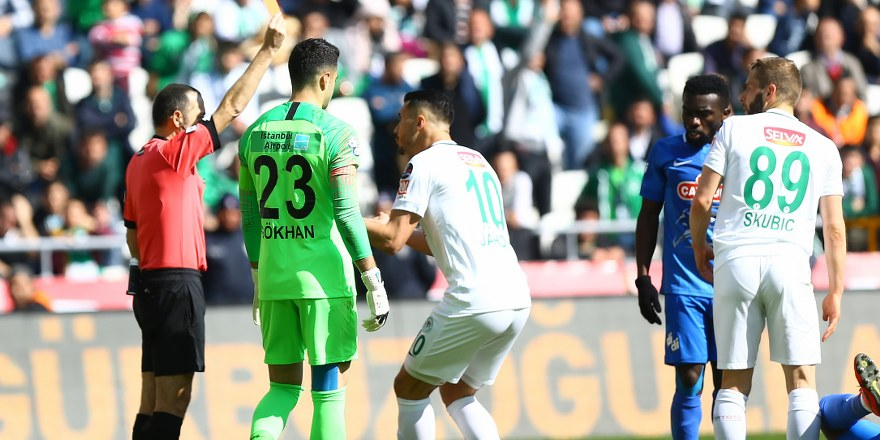 Kartlar Konyaspor'a çıktı