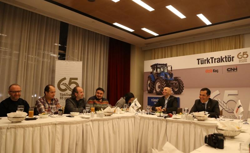 TürkTraktör'ün yeni traktörü fuarda