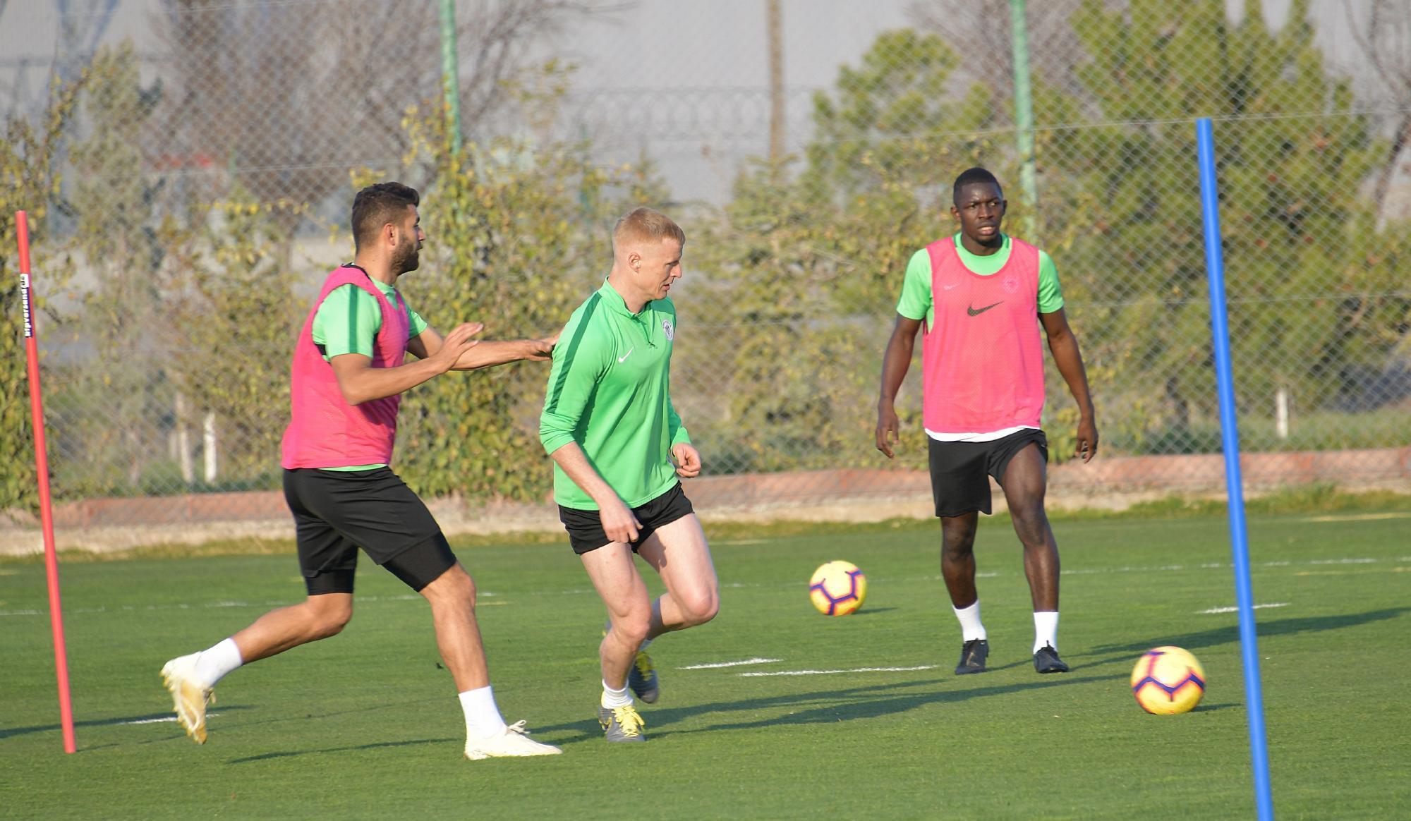 Konyaspor hazırlık maçı oynayacak