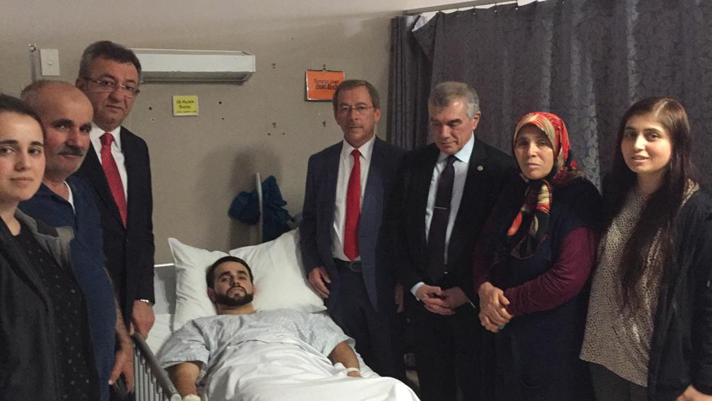 CHP heyetinden anlamlı ziyaret