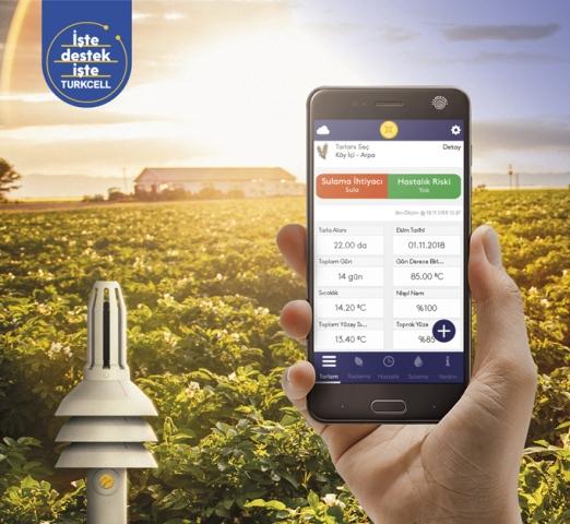 Dijital tarımda yerli ve milli ürün 'Filiz'