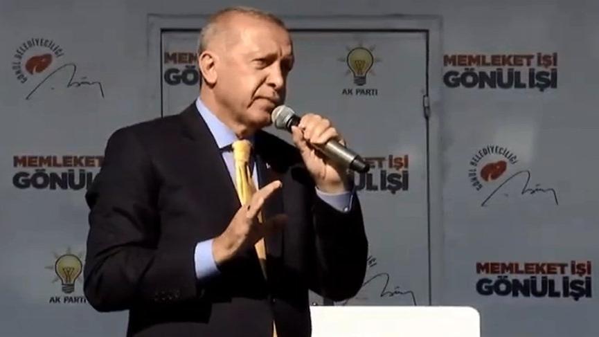 Erdoğan: Hesabını vereceksiniz