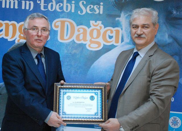 Doğumunun 100. yılında Cengiz Dağcı anlatıldı