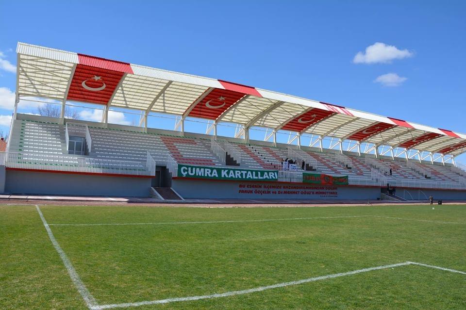 Çumra'nın yeni stadı açıldı