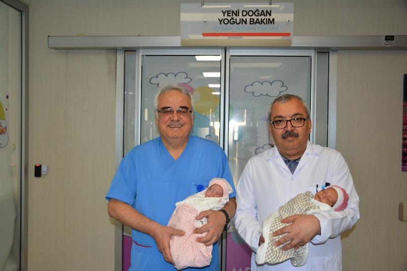 Medova'nın ilk tüp ikizleri doğdu